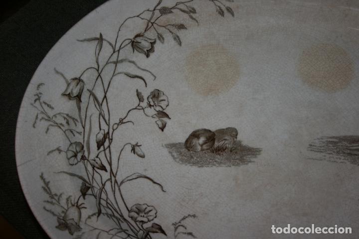 Antigüedades: Fuente San Juan, Premier, Sevilla, sello y marca. mide 38 x 28 cms. - Foto 4 - 130531874