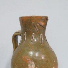 Antigüedades - ANTIGUA JARRA VINATERA. CUENCA. LAÑADA - 130536418