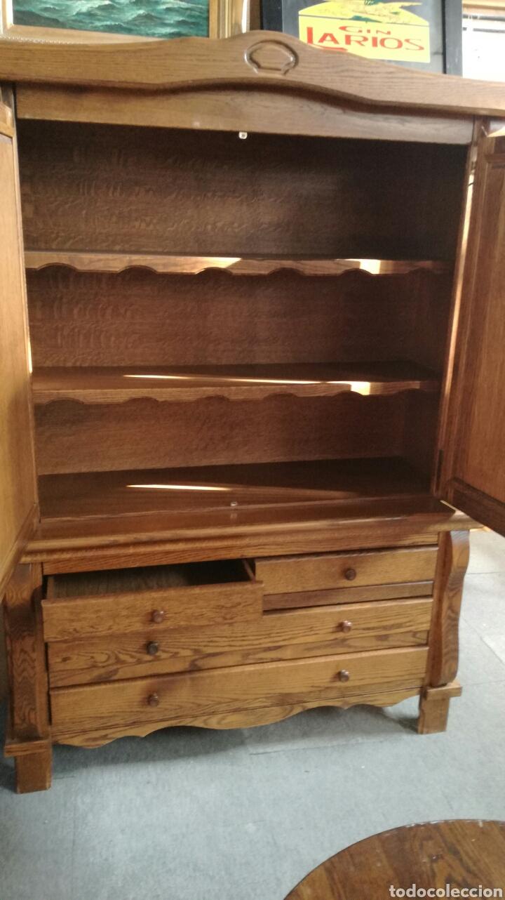 Antigüedades: Armario de madera de roble - Foto 3 - 130536503
