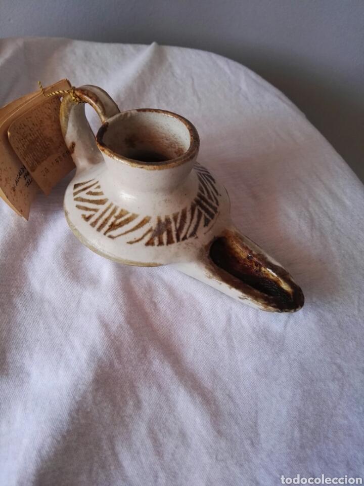 PRECIOSA PIEZA ALFAJARA CERAMICA MALAGA (Antigüedades - Porcelanas y Cerámicas - Otras)