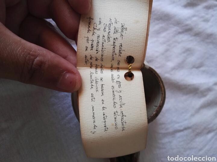 Antigüedades: Preciosa pieza alfajara ceramica malaga - Foto 8 - 130557990