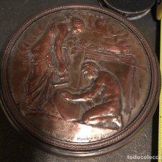 Antigüedades: MAGNÍFICA CAJA FRANCESA DE FINALES DE S.XIX. NAPOLEON III. Lote 130565378