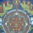 Antigüedades: THANGKA YOGA SUPREMO SEXO TANTRICO CHAKRASAMVARA VAJRAVARAHI YAB YUM TIBET SIGLO XVIII PIEZA MUSEO. Lote 130579182