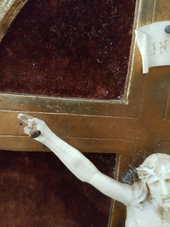 Antigüedades: CRISTO marfil antiguo. - Foto 5 - 130601015