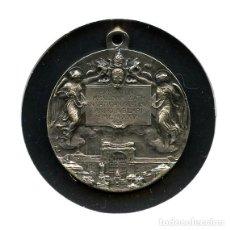 Antigüedades: VATICANO, MEDALLA, PÍO XI, JUBILEO Y EXPOSICIÓN, 1925, MEDAL SILVER. Lote 130608858