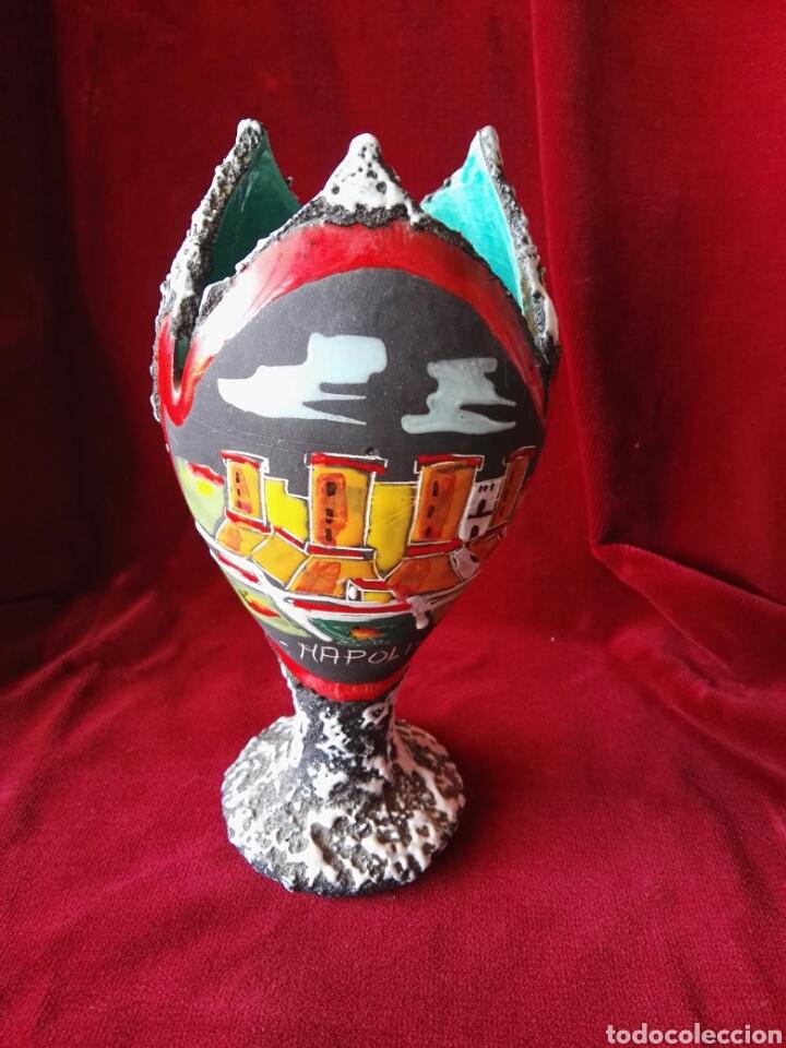 COPADE CERAMICA ITALY NAPOLI PINTADO A MANO (Antigüedades - Porcelanas y Cerámicas - Otras)