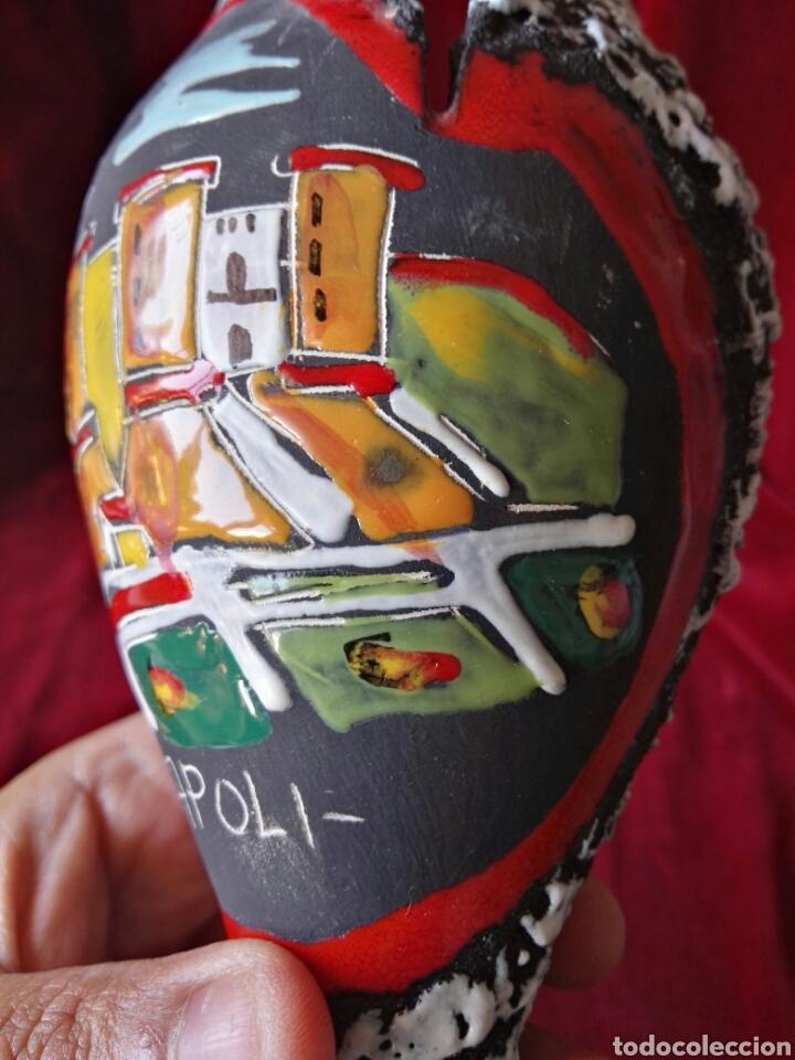 Antigüedades: Copade ceramica italy Napoli pintado a mano - Foto 12 - 130610302