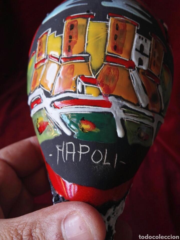 Antigüedades: Copade ceramica italy Napoli pintado a mano - Foto 13 - 130610302