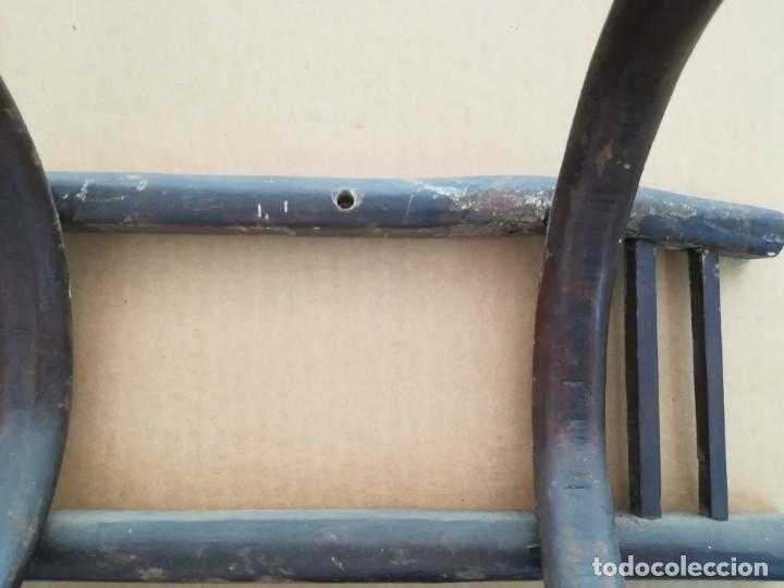 Antigüedades: ANTIGUO PERCHERO MADERA PERCHA 4 BRAZOS ESTILO THONET PARA ROPA Y SOMBREROS - Foto 8 - 130627770