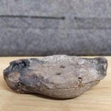 Antigüedades: ANTIGUA LUCERNA DE BARRO DE MÉRIDA . LÁMPARA ROMANA. MEDIDA 11 X 6 CM. PEGADA. Lote 130667818