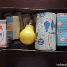 Antigüedades: LOTE DE 14 BOMBILLAS ANTIGUAS OSRAM . Lote 130703609