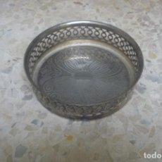 Antigüedades: ANTIGUA BANDEJA METÁLICA - VACIABOLSILLOS. Lote 130715749