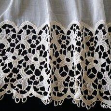 Antiquitäten - Antigua cortina con encaje - 130758224
