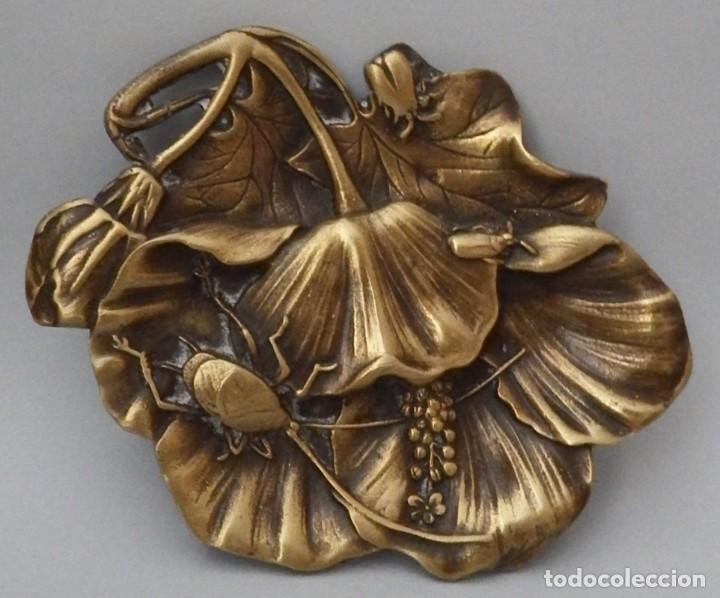 Antigüedades: DESPOJADOR EN BRONCE - Foto 5 - 130789540