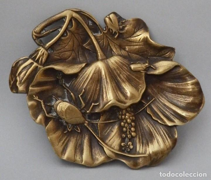 Antigüedades: DESPOJADOR EN BRONCE - Foto 6 - 130789540