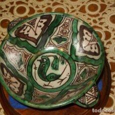 Antigüedades: BOL CERAMICA DE TERUEL. RAMON PUNTER. Lote 130790840