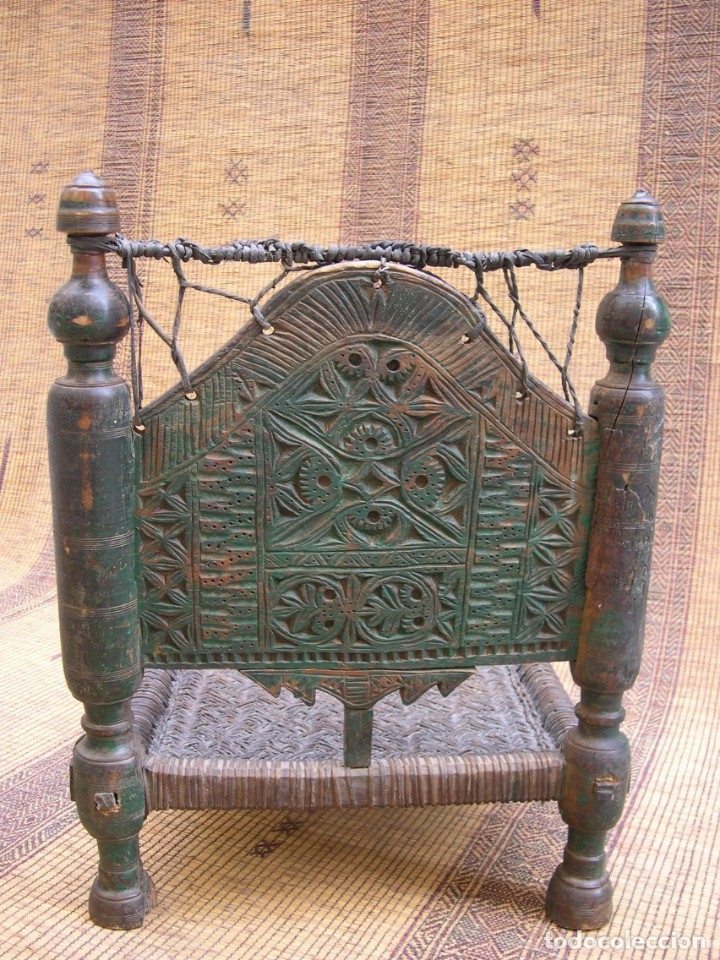 Antigüedades: ANTIGUA SILLA AFGANISTAN - Foto 4 - 130796824