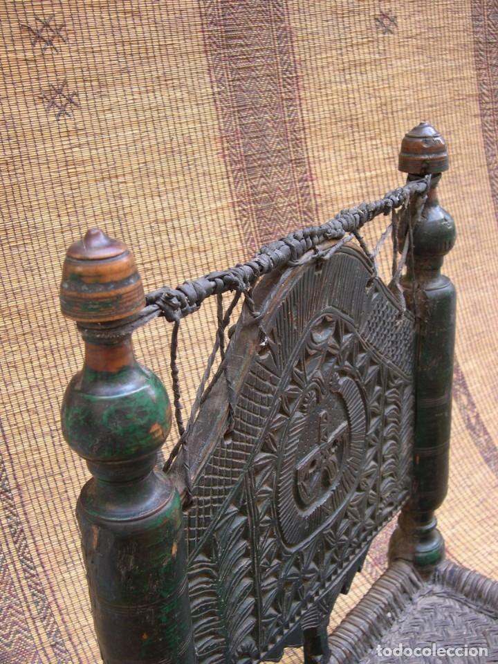 Antigüedades: ANTIGUA SILLA AFGANISTAN - Foto 5 - 130796824