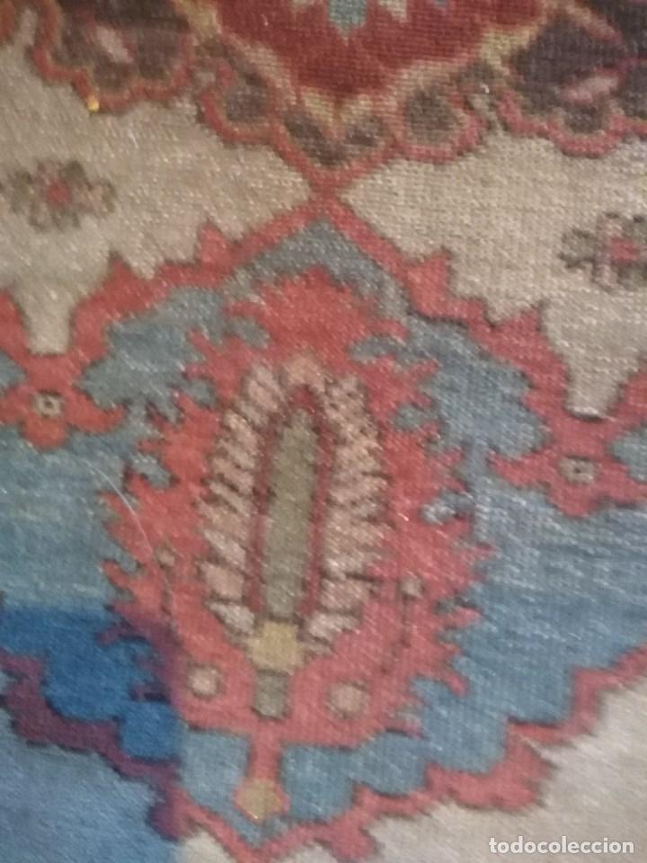 Antigüedades: ALFOMBRA PERSA ANTIGUA - Foto 4 - 130824900