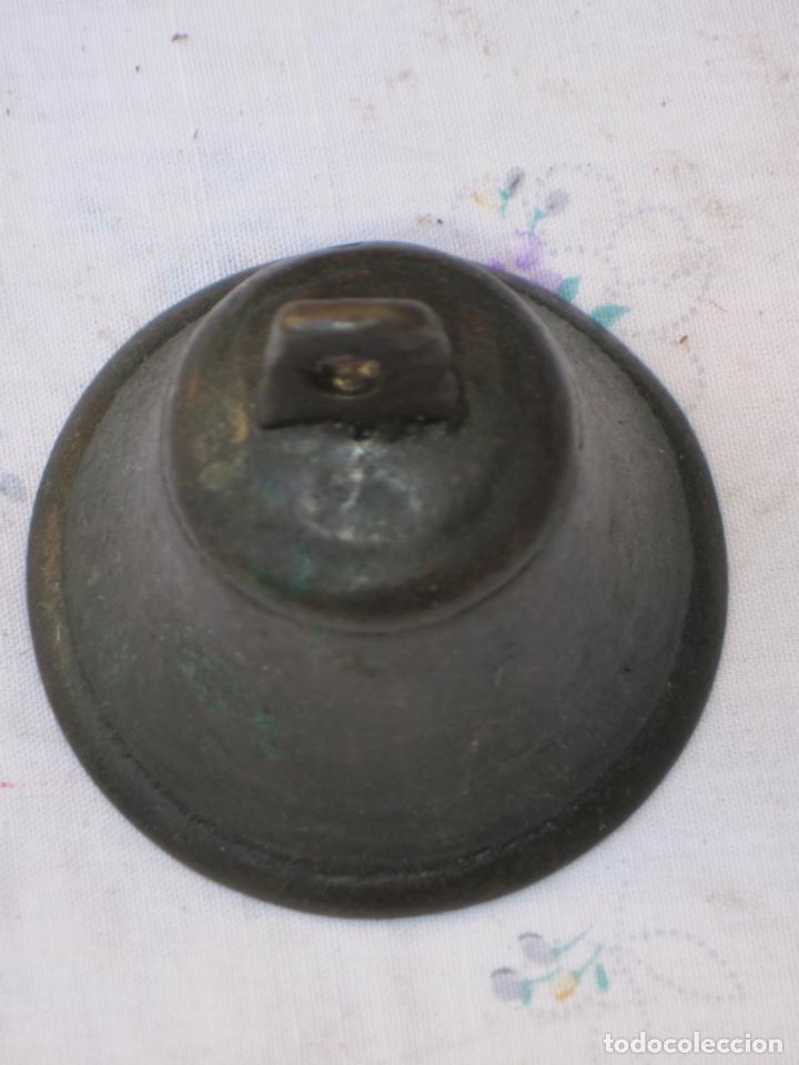 Antigüedades: CAMPANILLA ANTIGUA DE CONVENTO EN BRONCE - CAMPANA - 3 - Foto 3 - 130848804