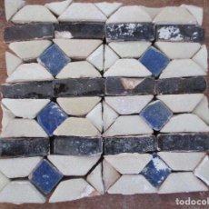 Antigüedades: AZULEJOS MUDEJARES DEL SIGLO XVI O ANTERIORES. Lote 130860096