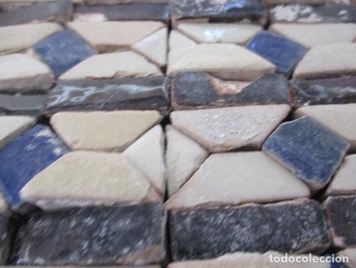 Antigüedades: Azulejos Mudejares del siglo XVI o anteriores - Foto 2 - 130860096