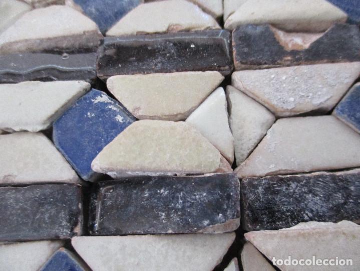 Antigüedades: Azulejos Mudejares del siglo XVI o anteriores - Foto 3 - 130860096