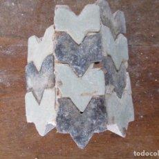 Antigüedades: AZULEJOS MUDEJARES DEL SIGLO XVI O ANTERIORES. Lote 130862220