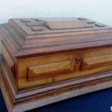 Antigüedades: COFRE ANTIGÜO. Lote 130900437