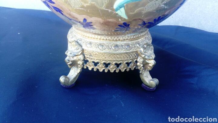 Antigüedades: CENTRO CHINO ESMALTADO - Foto 8 - 130901769