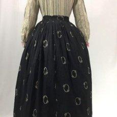 Antiquitäten - Antigua saya de algodón estampada - 130909656