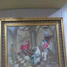 Antigüedades: BORDADO RELIGIOSO ,SIGLO XIX. Lote 130941640
