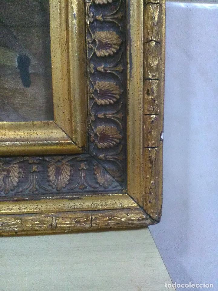 Antigüedades: Bordado religioso ,siglo XIX - Foto 4 - 130941640
