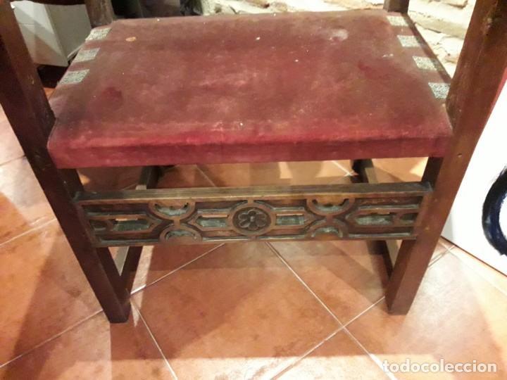 Antigüedades: Sillón frailero - Foto 2 - 130971288