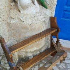 Antigüedades: REPISA Y MACETERO ANTIGUOS. Lote 131014736