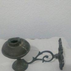 Antigüedades: APLIQUE DE METAL PARA VELA. Lote 131014933