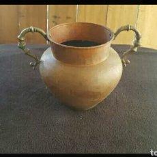 Antigüedades: OLLA DE COBRE ANTIGUA. Lote 131015307