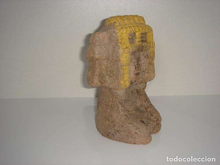 Antigüedades: ANTIGUA FIGURA PRECOLOMBINA AZTECA MAYA INCA - Foto 2 - 131045496