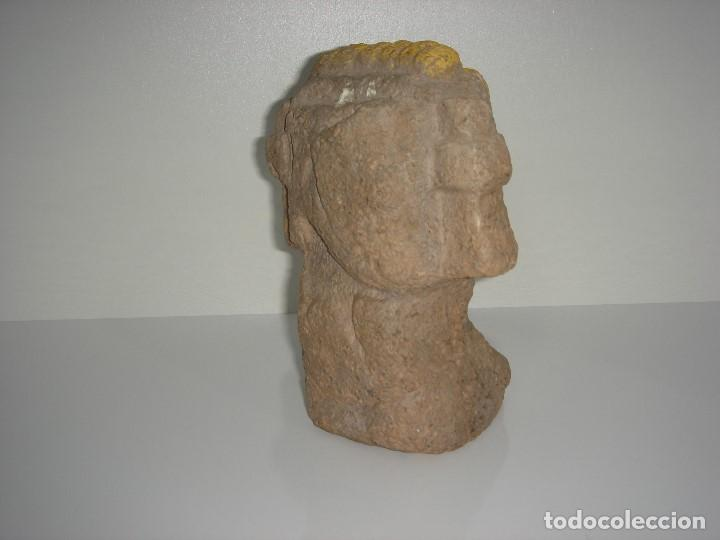 Antigüedades: ANTIGUA FIGURA PRECOLOMBINA AZTECA MAYA INCA - Foto 4 - 131045496