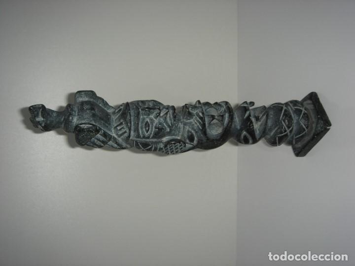 Antigüedades: ANTIGUO TOTEM CULTURA INCA MAYA - Foto 3 - 131045712