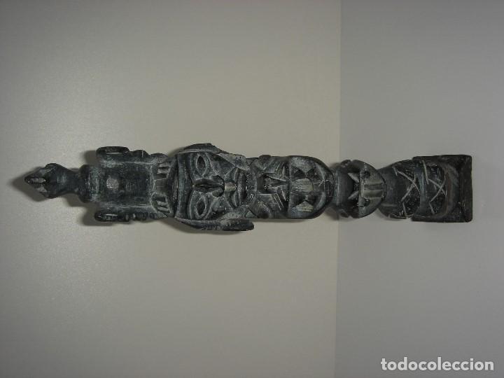 ANTIGUO TOTEM CULTURA INCA MAYA (Antigüedades - Varios)