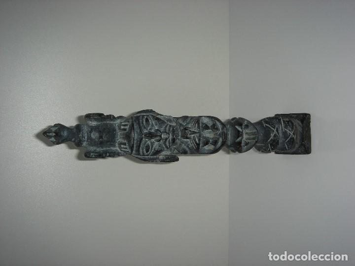Antigüedades: ANTIGUO TOTEM CULTURA INCA MAYA - Foto 2 - 131045928