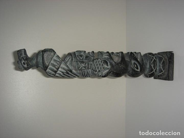 Antigüedades: ANTIGUO TOTEM CULTURA INCA MAYA - Foto 4 - 131045928