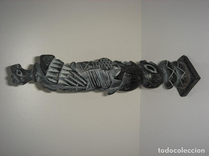 Antigüedades: ANTIGUO TOTEM CULTURA INCA MAYA - Foto 5 - 131045928