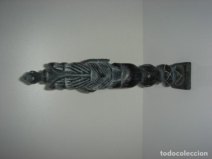 Antigüedades: ANTIGUO TOTEM CULTURA INCA MAYA - Foto 6 - 131045928