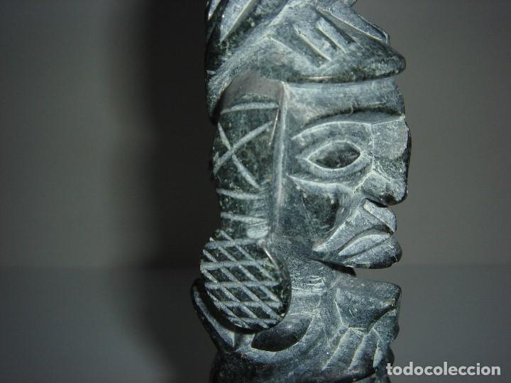 Antigüedades: ANTIGUO TOTEM CULTURA INCA MAYA - Foto 10 - 131045928