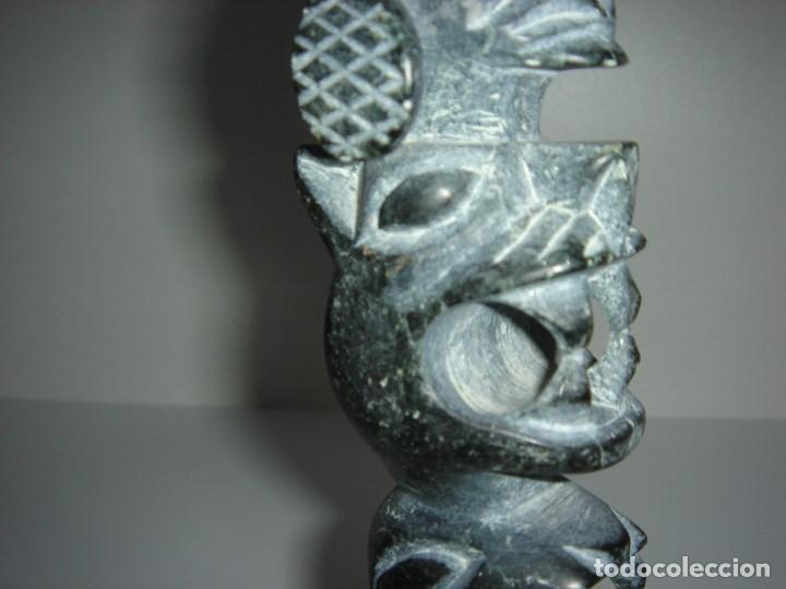 Antigüedades: ANTIGUO TOTEM CULTURA INCA MAYA - Foto 11 - 131045928