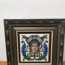Antigüedades: CUADRA DE AZULEJOS DE FINALES DEL SIGLO XVIII. Lote 131083152
