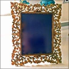 Antigüedades - precioso Marco de bronce - 131094828
