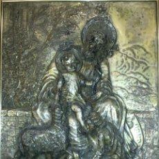 Antigüedades: SAN JOSE CON NIÑO Y SAN JUANITO. Lote 131106780
